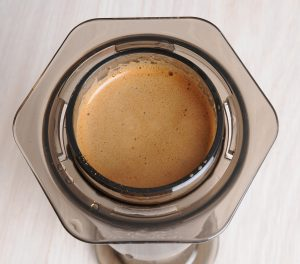 picture of the aeropress from above