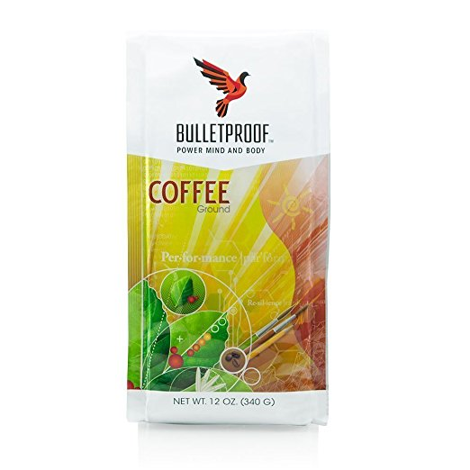 a packet of bulletproof coffee
