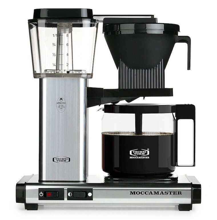 the technivorm moccamaster in all its glory