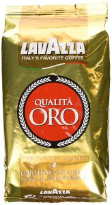 packet of lavazza coffee beans
