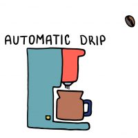 cute photo of autodrip coffee maker