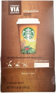 starbucks, best range of instant coffee flavors