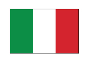 the flag of Italy