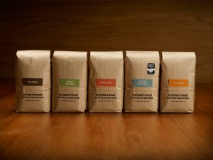 five packs of beans from stumptown