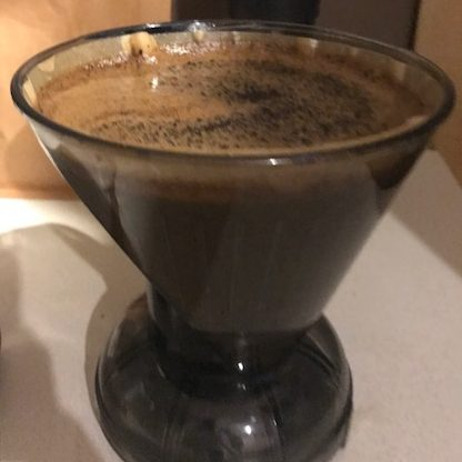 a clever coffee dripper brew
